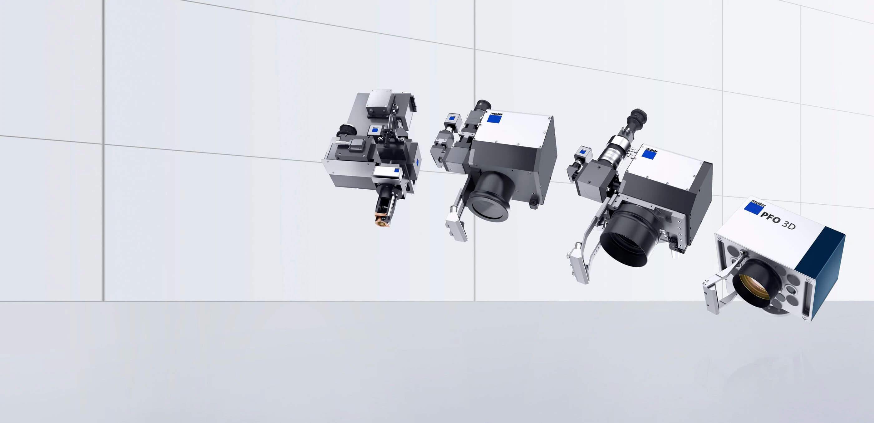 Programmable focusing optics