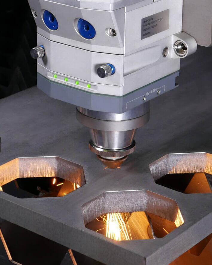 PRECITEC Processing heads and quality monioring