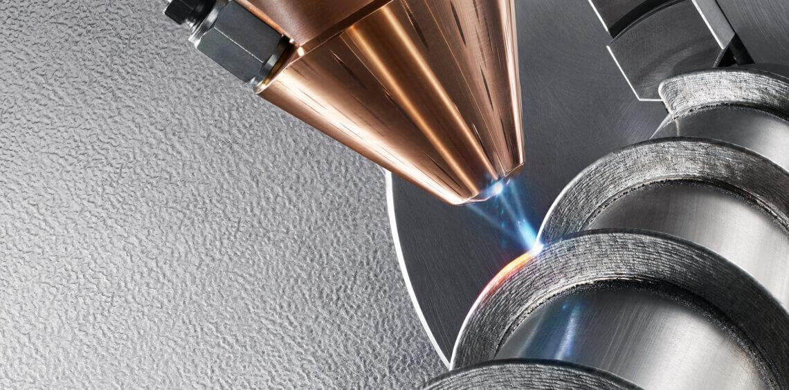 Laser metal deposition (LMD) process